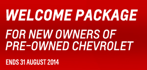 Chevy Welcome Package