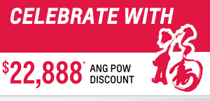 Celebrate CNY with a generous Ang Pow Discount